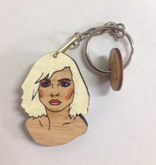 Keyring: Debbie Harry, Blondie
