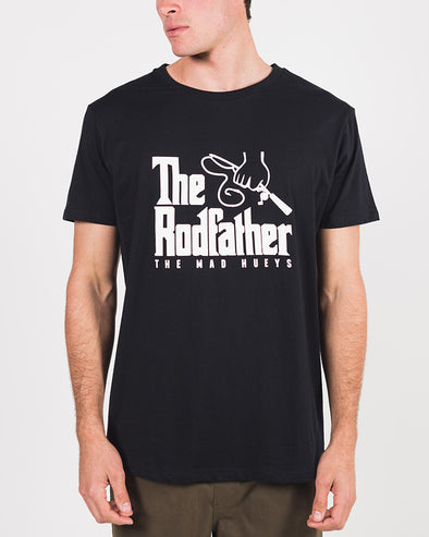 THE RODFATHER SHORT SLEEVE TEE - BLACK