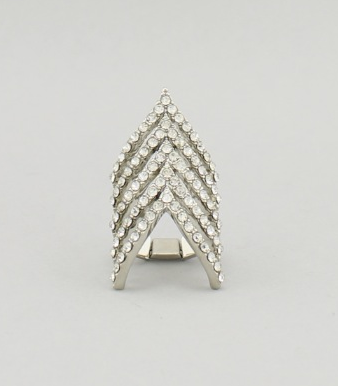 Chevron Stretch Ring - Various Colors