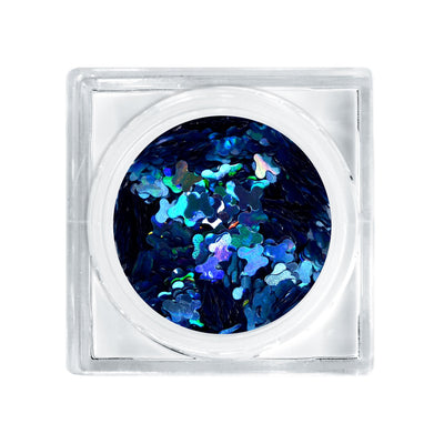LIT COSMETICS GLITTER DECOR - CATCHING BUTTERFLIES - BLUE