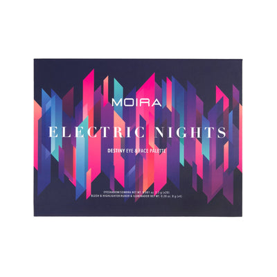 MOIRA BEAUTY DESTINY EYE & FACE PALETTE - ELECTRIC NIGHTS