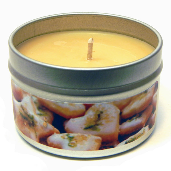 Iced Lemon Cookie, 4oz Soy Candle Tin - Candeo Candle - 2