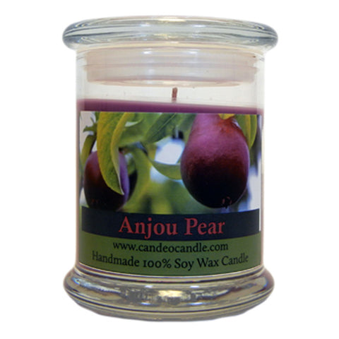 Anjou Pear, 9oz Soy Candle Jar - Candeo Candle