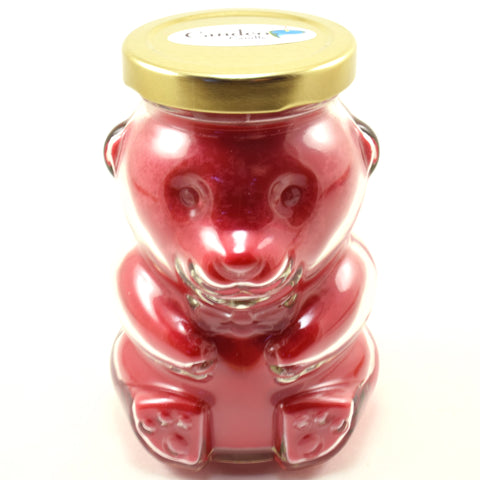 Cinnamon Bear Soy Candle, Bear Jar 8oz