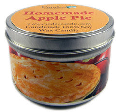 Homemade Apple Pie, 6oz Soy Candle Tin - Candeo Candle