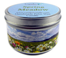 Spring Meadow, 6oz Soy Candle Tin - Candeo Candle