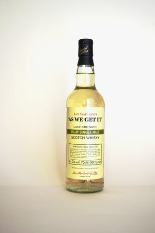 "Ian Macleod Distillers ""As We Get It"" Cask Strength Islay"