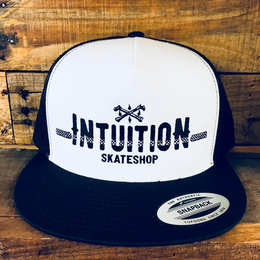 Intuition Cloth Front trucker hat
