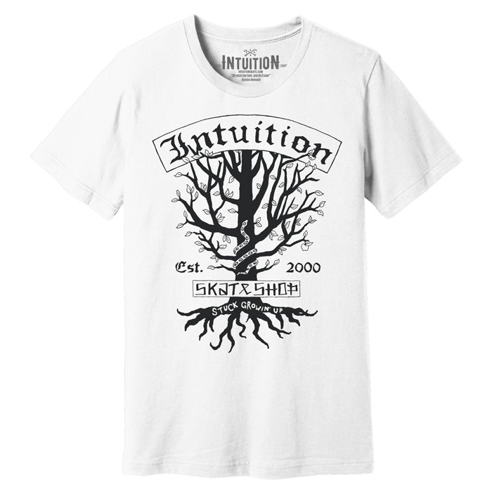 Intuition Stuck Growing Up shirt