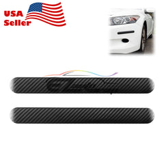 Carbon Fiber Style Anti-Scratch Black Bumper Corner Guard