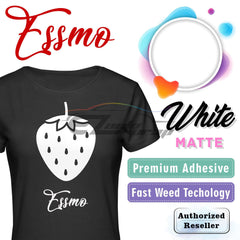 ESSMO™ White Solid Matte DP02 Heat Transfer Vinyl HTV Sheet