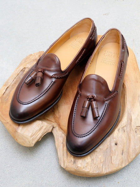Edward Green Belgravia in Dark Oak Antique Calf