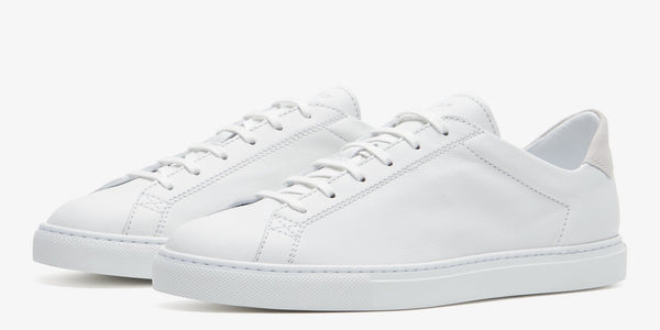 C.QP Racquet (Unlined) in White Calf