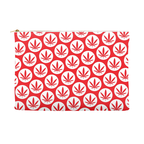 Leaf Pouch - xmas edtion