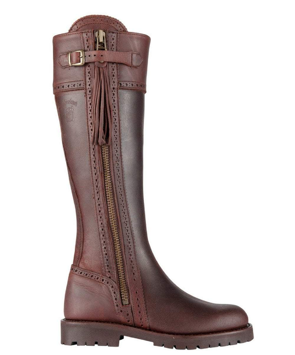 The Spanish Boot Company Leather boots Spanish Riding Boots classic: Brown (tread sole)