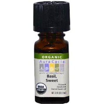 Aura Cacia Basil, Sweet Organic Essential Oil - Go Natural 24/7, LLC