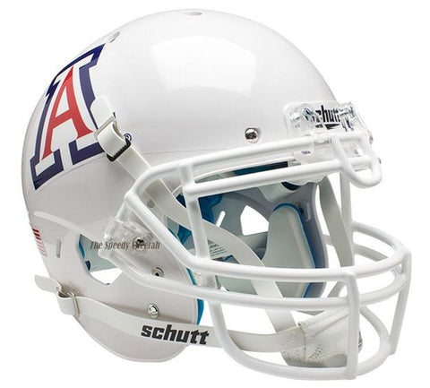 Arizona Wildcats Solid White Schutt XP Authentic Football Helmet