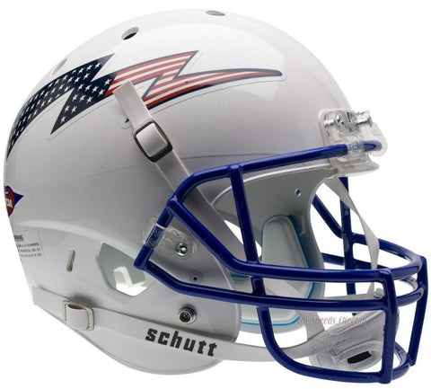 Air Force Falcons Flag Bolt Schutt XP Replica Football Helmet