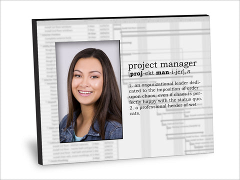 Project Manager Definition Picture Frame