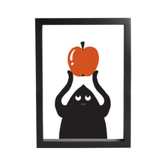 Apple Dude Print