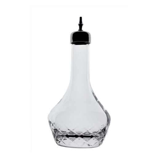 Japanese Diamond Cut Bitters Bottle for Cocktails