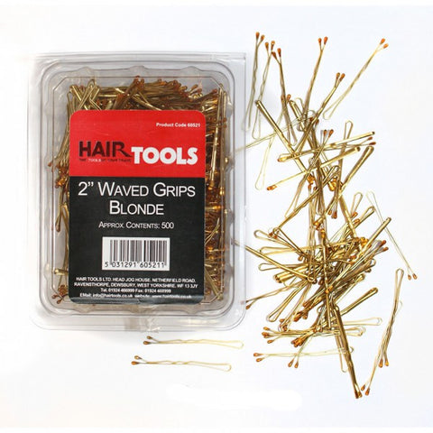 "2"" Waved Hair grips (Pack of 500)"