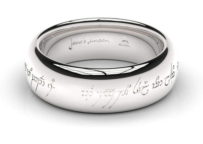 Elvish Love Ring White Gold, Palladium and Platinum  18ct White Gold - Jens Hansen