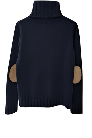 Speakeasy Cable Sweater | Navy