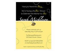Baby Buzz Bee Bridal Shower Invitation