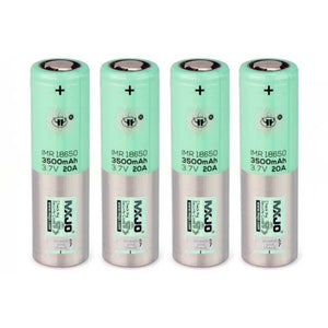 MXJO 18650 3500mAh Rechargeable 20A Battery – 4 Pack - Vape Society