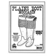 Adult Plains Boot Moc Pattern Pack - Maine-Line Leather