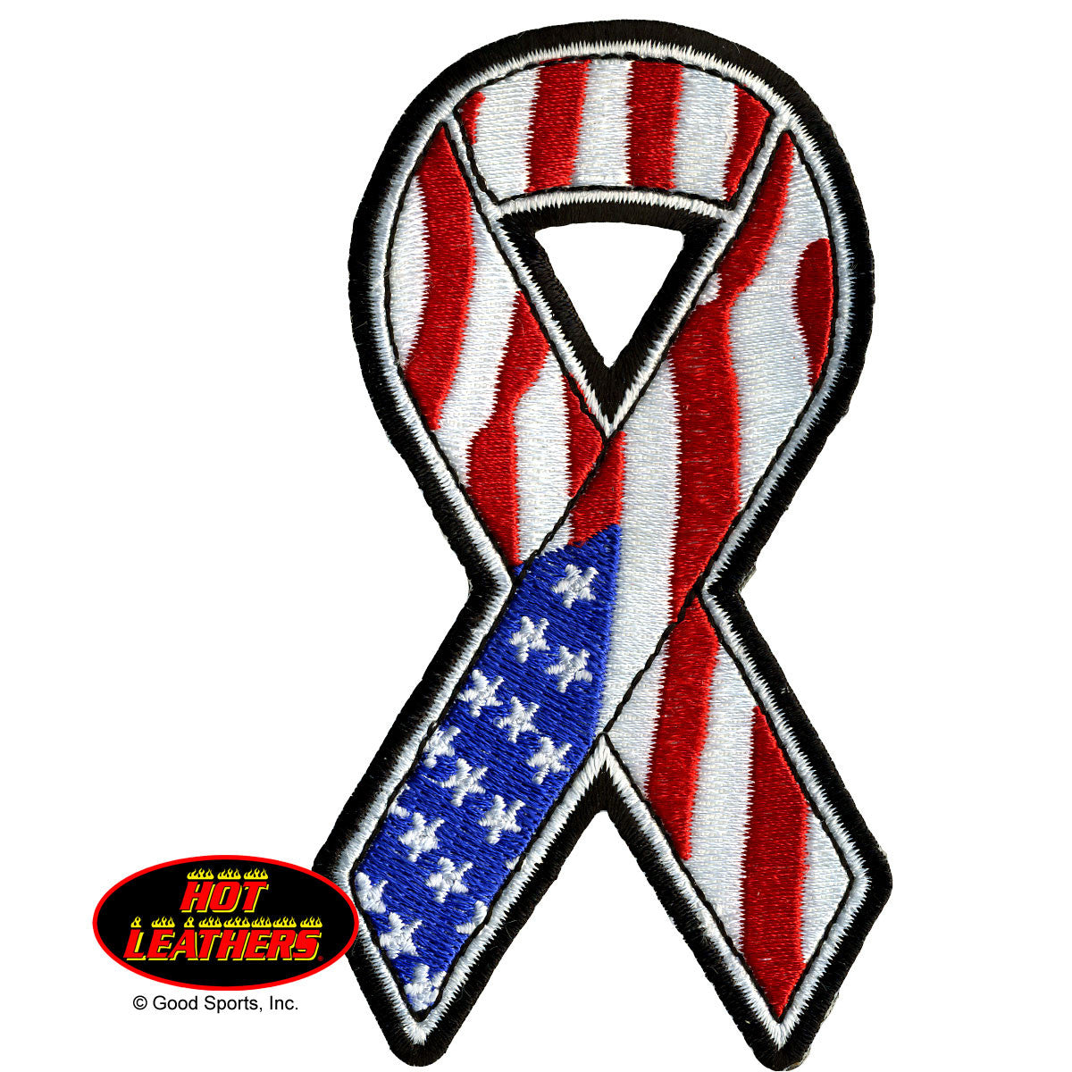 American Flag Ribbon - Maine-Line Leather