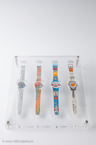 "Swatch Special ""Swatch-Display"" with 4 new Swatch"""
