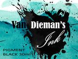 Van Dieman's Ink - Pigment Black - 30ml Bottle
