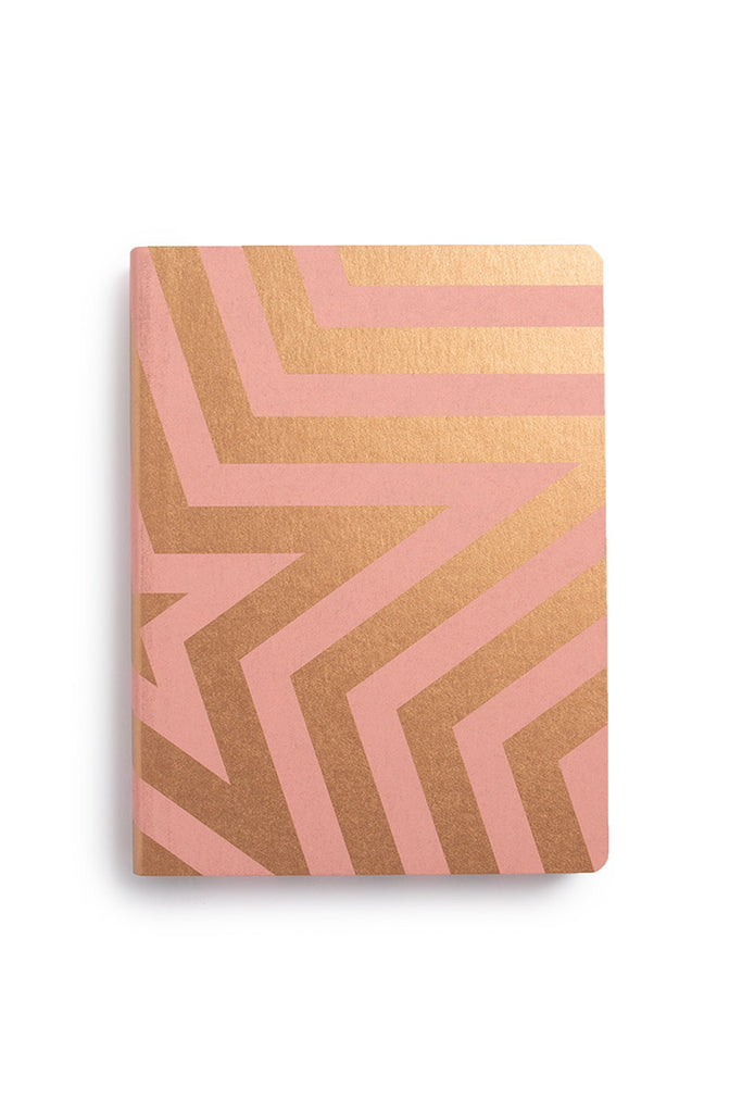 NUUNA - GRAPHIC NOTEBOOK - DOT GRID - LARGE - SUPER STAR GOLD - Pens...Paper...Ink