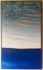 """American Dawning""-Framed- Sold"