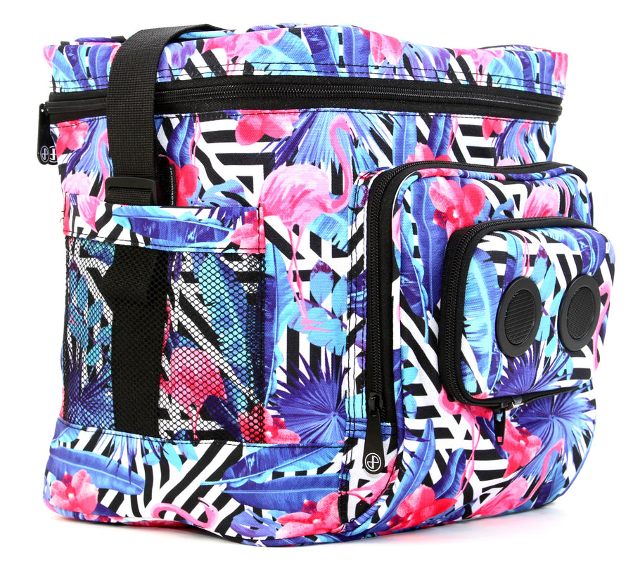 Flamingo Flair Bluetooth Cooler-Cooler-JammyPack