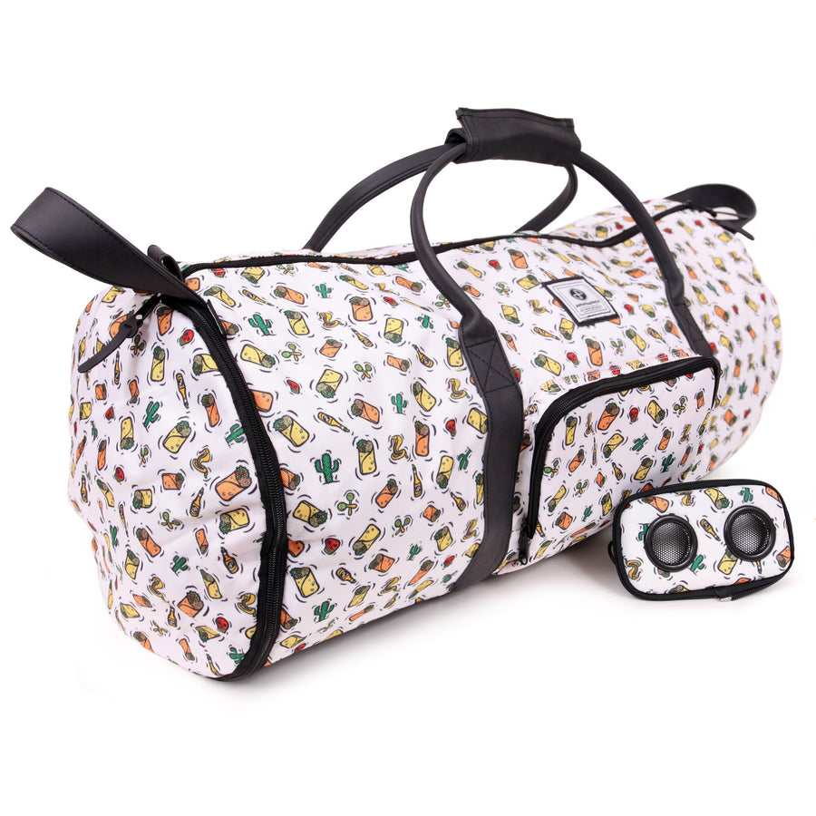 Team Burrito by Joey Brezinski Duffel Bag-Duffel Bag-JammyPack