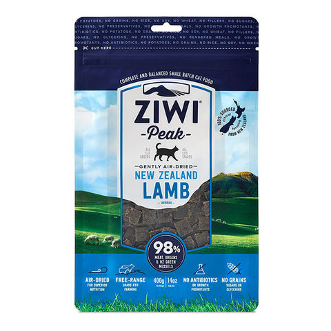 Ziwi Peak - Daily Cat Air Dried Lamb - 400g pouch