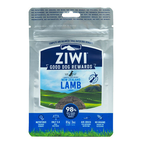 Ziwi Peak - Good Dog Treats - Lamb 85g pouch