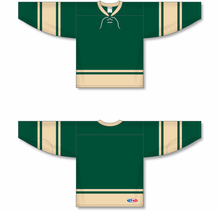 Load image into Gallery viewer, 2004 ALL STARS FOREST Lace Neck Blank Hockey Jerseys
