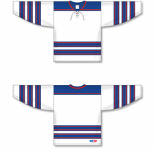 Load image into Gallery viewer, LEGENDS White, Royal, Red Pro Blank Hockey Jerseys
