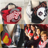 Game Day + Custom Scarves