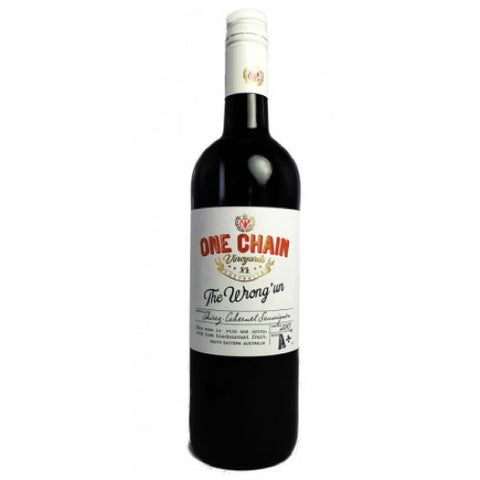 One Chain 'The Wrong Un' Shiraz Cabernet
