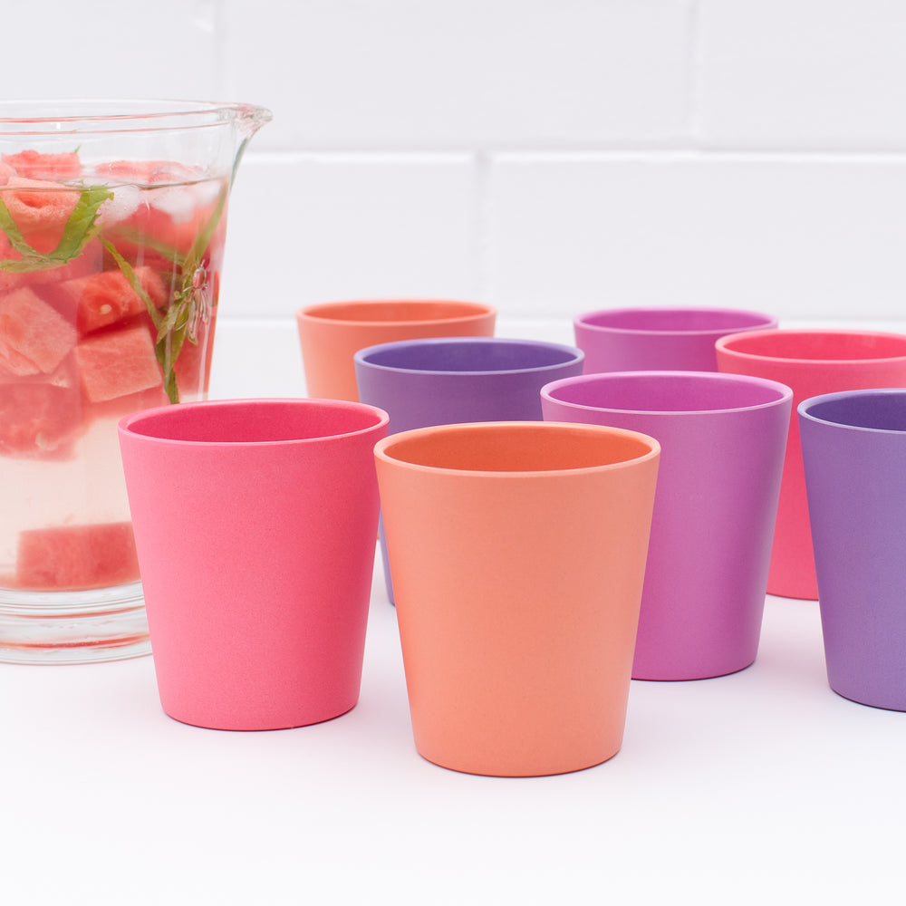 Original Cup Set | Bamboo 4pk - Sunset