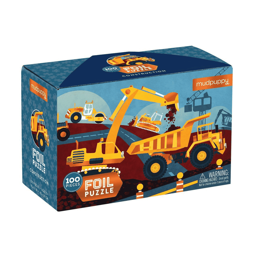 100 Piece Foil Puzzle | Construction