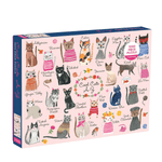 1000 Piece Puzzle - Cool Cats A-Z