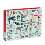 1000 Piece Puzzle - Hot Dogs A-Z