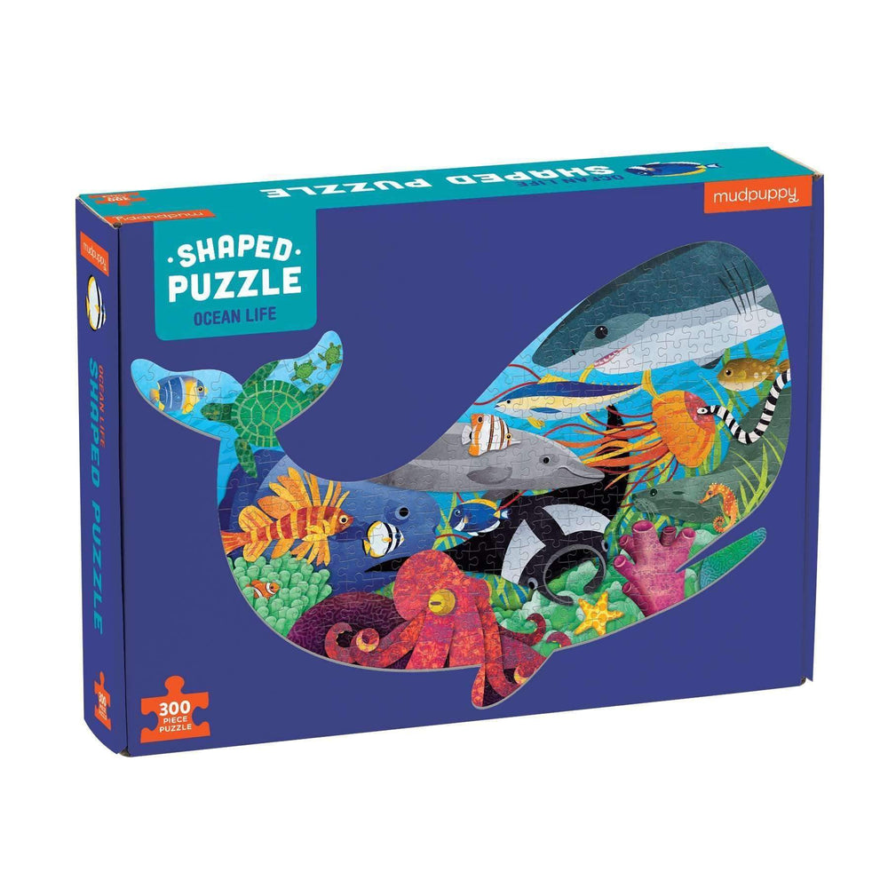 300 Piece Shaped Puzzle | Ocean Life