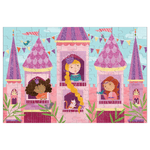 100 Piece Glitter Puzzle | Princess